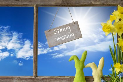 Spring cleaning in marshall